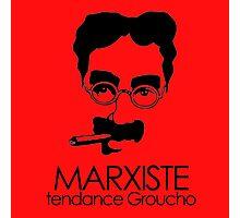 MARXISTE - tendance Groucho Photographic Print