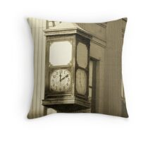 Does Anybody Know What Time It Is Throw Pillow