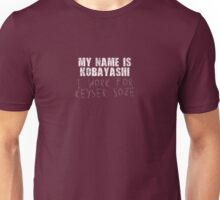 The Usual Suspects - My Name Is Kobayashi, I Work For Keyser Soze Unisex T-Shirt