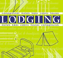Lake City Lodging Brochure Cover by aphcreative