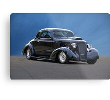 1937 Chevrolet Coupe 'New Sheriff in Town' Metal Print