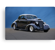1937 Chevrolet Coupe 'New Sheriff in Town' Canvas Print