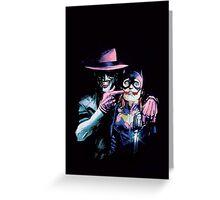 Joker - Batgirl/Batman 41 cover variant  Greeting Card