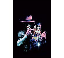 Joker - Batgirl/Batman 41 cover variant  Photographic Print