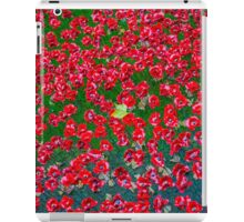 Maple Lead amongst the poppies iPad Case/Skin