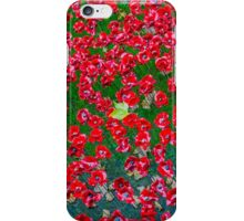 Maple Lead amongst the poppies iPhone Case/Skin