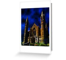 Cathedral X Greeting Card