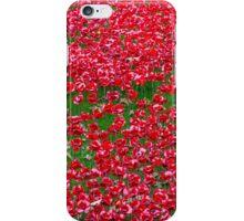 Ceramic Poppies iPhone Case/Skin