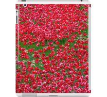 Ceramic Poppies iPad Case/Skin