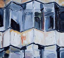 Rotund  Fox Building by cathalpaint