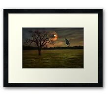 In The Eye Of The Storm Framed Print
