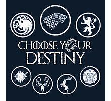 Choose Your Destiny Photographic Print