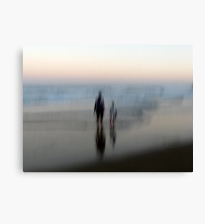 You, Me, the Sea Canvas Print