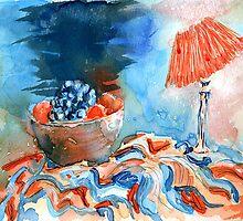 Blue & Orange by Lee Kerr