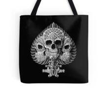 Skull Spade Tote Bag