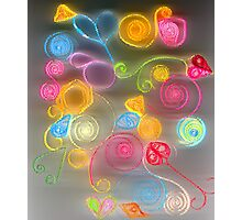 Quilled Paper Series 3  Photographic Print