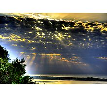""""""" It was a beautiful morning """" Photographic Print"""