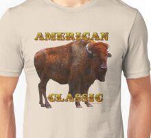 American Classic Buffalo by ©Fractal Tees Unisex T-Shirt