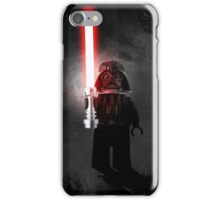 Darth Vader - Star wars lego digital art.  iPhone Case/Skin