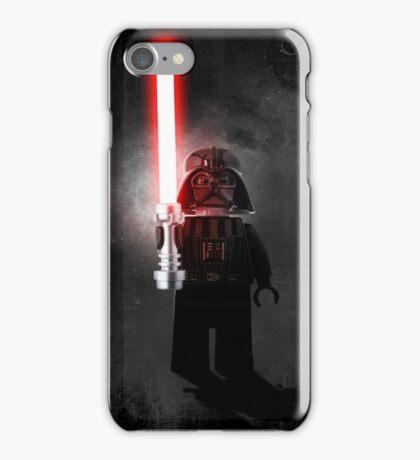 Darth Vader - Star wars lego digital art.  iPhone Case/Skin