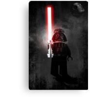 Darth Vader - Star wars lego digital art.  Canvas Print