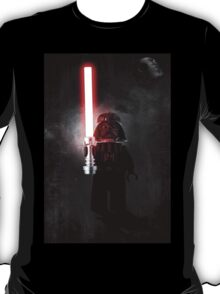 Darth Vader - Star wars lego digital art.  T-Shirt
