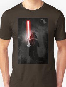 Darth Vader - Star wars lego digital art.  Unisex T-Shirt