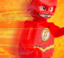 Lego The Flash - Custom Artwork & Photography Sticker