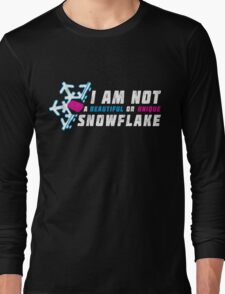 A beautiful and unique snowflake. Long Sleeve T-Shirt