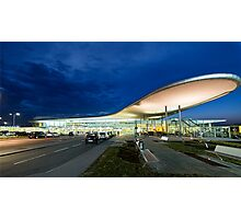 Blue hour Airport Photographic Print