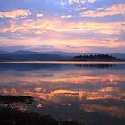 Lake Jindabyne Sunset, Australia by Michael Boniwell