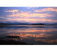 Lake Jindabyne Sunset, Australia Photographic Print