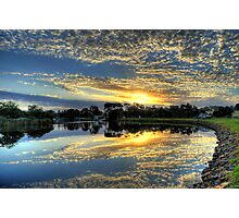 """ Sunrise on the Brodribb River Marlo Vic "" Photographic Print"