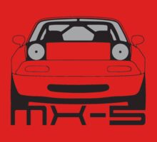 Mazda MX-5 Front by 3pedaldriving