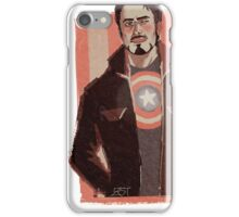 Tony in Captain Gear iPhone Case/Skin