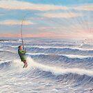 Sunrise Striper by William H. RaVell III