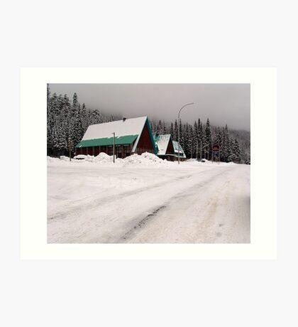 Rogers Pass (1) Art Print