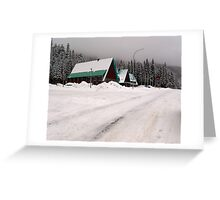 Rogers Pass (1) Greeting Card