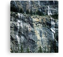 The Weeping Wall Canvas Print