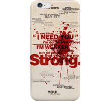 Strong iPhone Case/Skin