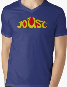 Joust Arcade Mens V-Neck T-Shirt
