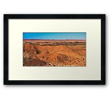 Butes, Mesas and More Framed Print