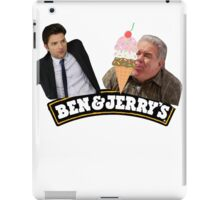 BEN AND JERRY'S ICE CREAM (PARKS AND REC) iPad Case/Skin