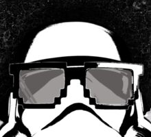 Star Wars Afro Trooper Sticker