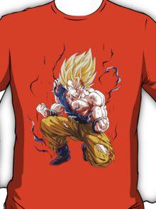 Dbz Sangoku Super Sayan T-Shirt