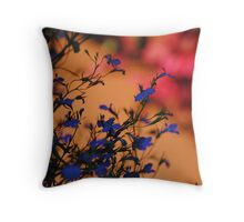 Vibrant Flowers.  Throw Pillow