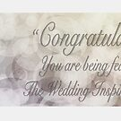 Wedding Inspiration Group Banner  by Samantha Cole-Surjan