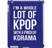 A LOT OF KPOP - BLUE iPad Case/Skin