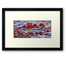 Copper Country Beach Framed Print