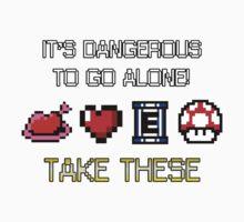A Dangerous World Kids Tee